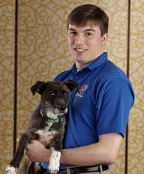 Michael and Finn Rose Lansing Michigan Canine Bed Bug Team